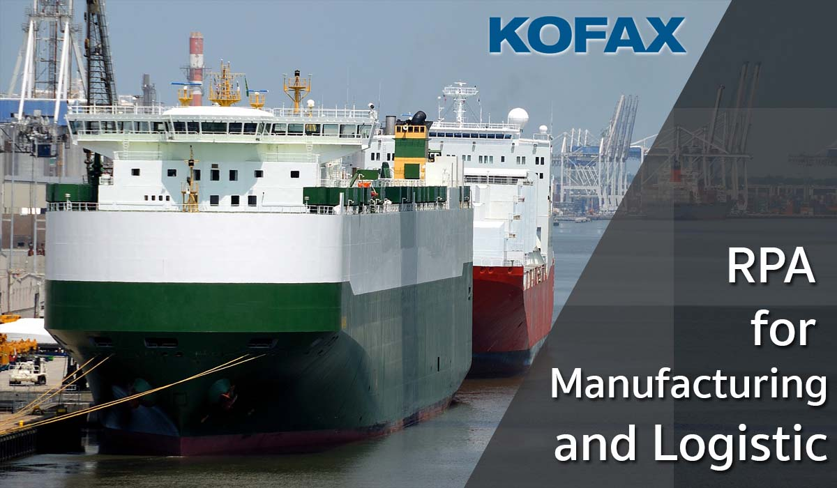 Read more about the article RPA for Manufacturing and Logistic